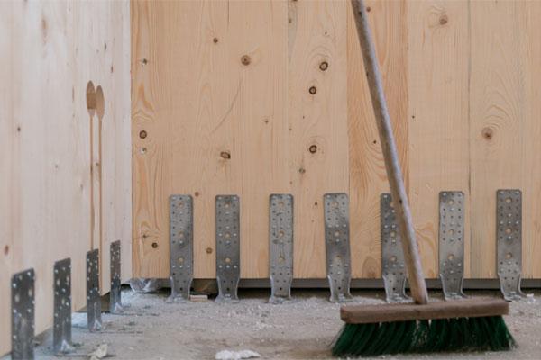 wand van kruislaaghout voor houtmassiefbouw